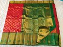 Olive Green Color Silk Sarees