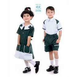 R.R.UNIFING棉质儿童学校制服