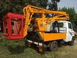 Self Propelled Tree Cutting Machine