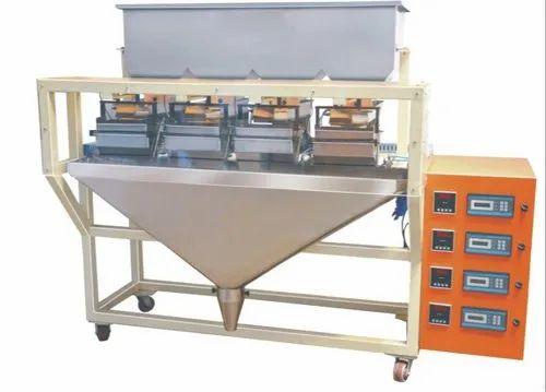 4 Head Weighing Base Granules Filling Machine
