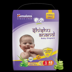 Himalaya Shishu Anand Baby Diapers, Size: Small
