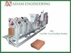 Coco Peat Pith Block Making Machines
