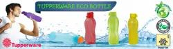 Plastic Round Tupperware Water Bottle, For Home