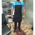 Black Chef Cotton Apron, 1, Size: Standard
