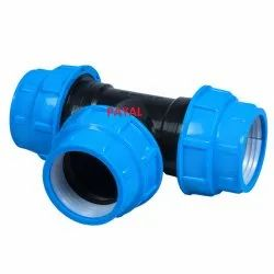 Compression Fittings Tee 63mm