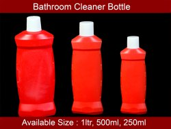 HDPE Bathroom Cleaner Bottle