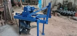 SAO India Mild Steel Sugarcane Pit Digging Machine, Tractor attachment, Diesel, Capacity: 30 Hp