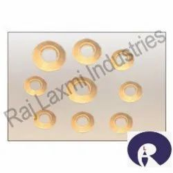 Zinc Plated Brass Washers, For Industrial, Round
