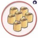 Aluminium Brass Insert For Plastic Junction Box, Packaging Type: Export, Hsn Code: Rli