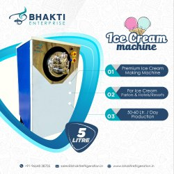 Ice Cream Machine 5 Ltr.