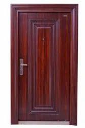 Standard Iron Steel Doors, Single, Double, Thickness: 50, 70 & 90mm