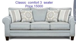 Classic Comfort Three Seater Sofa