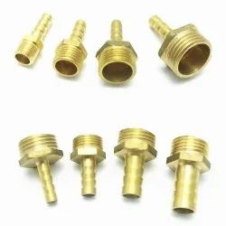 Brass Hose Nipple With Thread Material