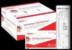 Plastic HIV 4th Generation Rapid Test- Trustline