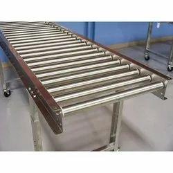 Radheiot Stainless Steel Conveyor, Material Grade: 304, Capacity: 50 Feet