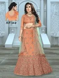 Ethnic Bollywood Embroidered Bridal Lehengas