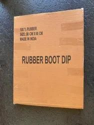Black Plain Rubber Disinfectant Mat