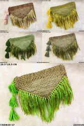 Stylish Jute Cotton Pouch
