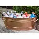 Copper Champagne Party Tub