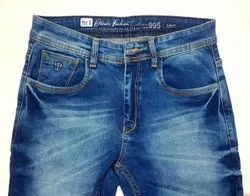 stay real as shown in pics Mens Faded Denim Jeans
