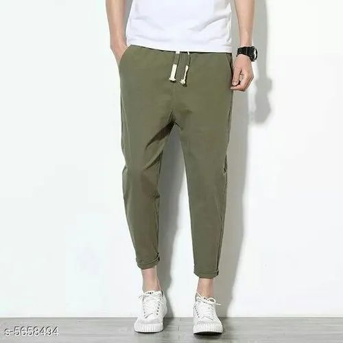 Cotton Men Slim Fit Trouser