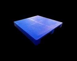 PRP-2224 Two Way Chequered Top Plastic Pallet