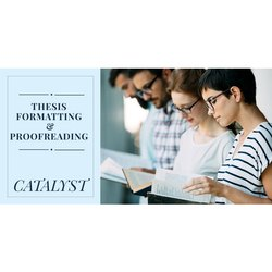 English Thesis Formatting Proofreading Service