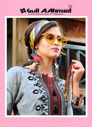 Gul Ahmed Lawn Collection 7th Edition Pakistani Print Suits Catalog