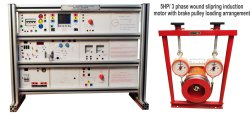 5HP-3 Ph. AC Slip Ring Induction Motor Trainer