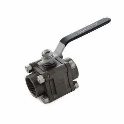1088 Screwed Cast Steel Three Piece Design Ball Valve