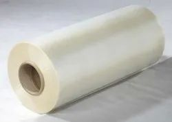 Transparent hot melt adhesive film