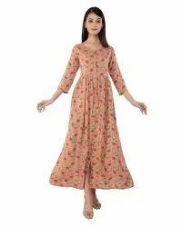 A Line Frock Dress