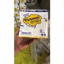 Dynamic Plain Tissue Paper Napkins, Packet