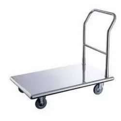 Platform Stainless Steel Trolley, For Industrial, Load Capacity: 700 Kg (max.)