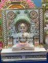 Marble Jain Parihar Statue