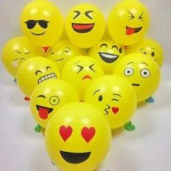 Birthday Balloons Latex Smiley Balloons