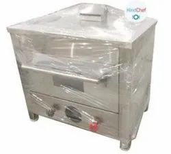 Stainless Steel Gas pizza oven, For Biscuit/Cookies