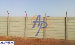 Prefabricated Boundary Wall