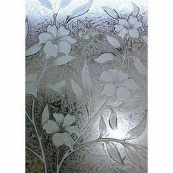 Transparent Decorative Textured Window Glass