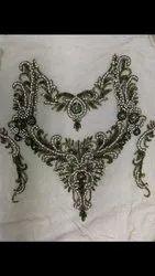Decorative Beaded Neck Patch