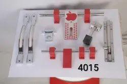 Aluminium Styles Door Aluminum Door Kit, 10
