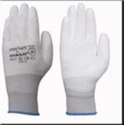 Karam HS21 White PU Coated Gloves