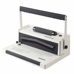 JINDAL Spiral Binding Machine A4, Size/Dimension: 435x335x205mm, 20sheet 80g