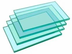 Transparent Toughened Glass, Size: 100 mm