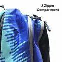 School Back bag -Black with Blue