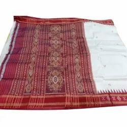 Party Wear Printed Pasapalli Border Handloom Silk Saree, 5.5 Metre