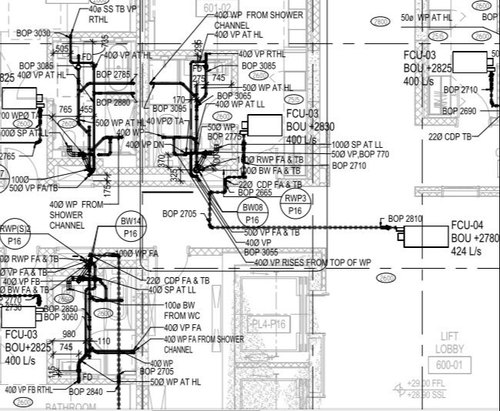 Building Layouts Shop Drawing Services