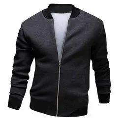 Full Sleeve Casual Wear Men Blended Cotton Woolen Jacket