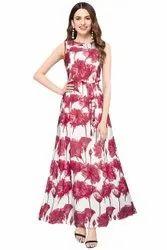 Green Richa Fashion World Designer Gown
