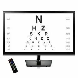 ASF LED Vision Chart Cyber Chart